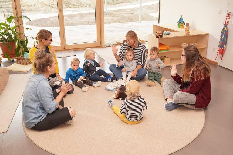 Grossansicht in neuem Fenster: Kinderkrippe